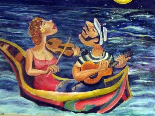 Musicians-in-Gondola