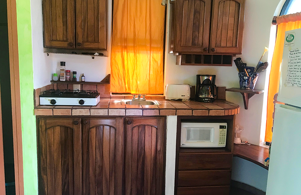 Fully loaded mini kitchen